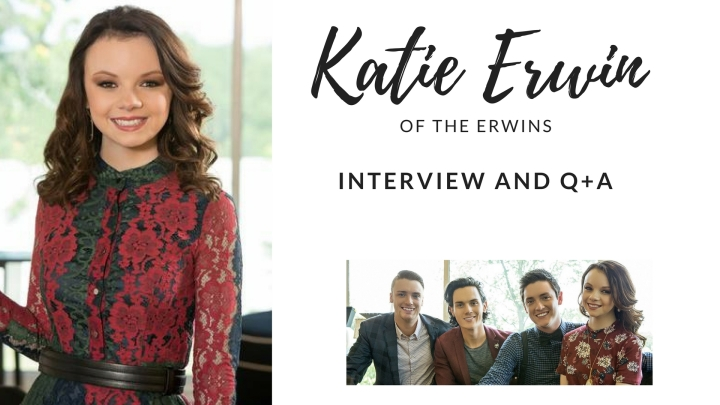 Interview and Q+A with KatieErwin