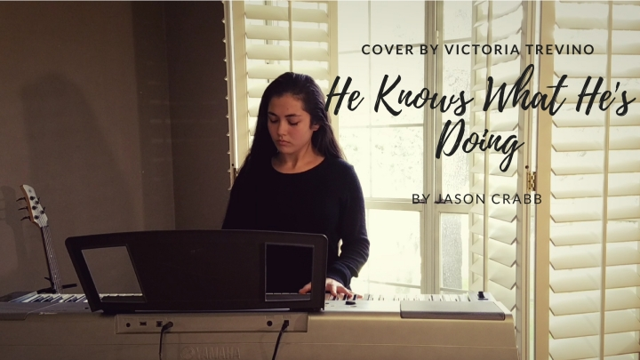 Cover (He Knows What He's Doing) By JasonCrabb