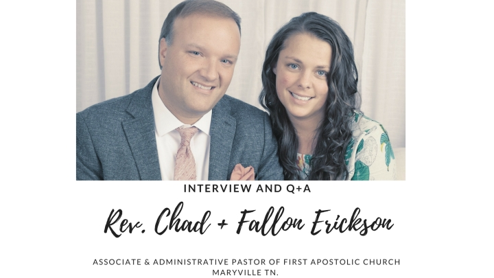 Interview and Q+A with Rev. Chad + FallonErickson