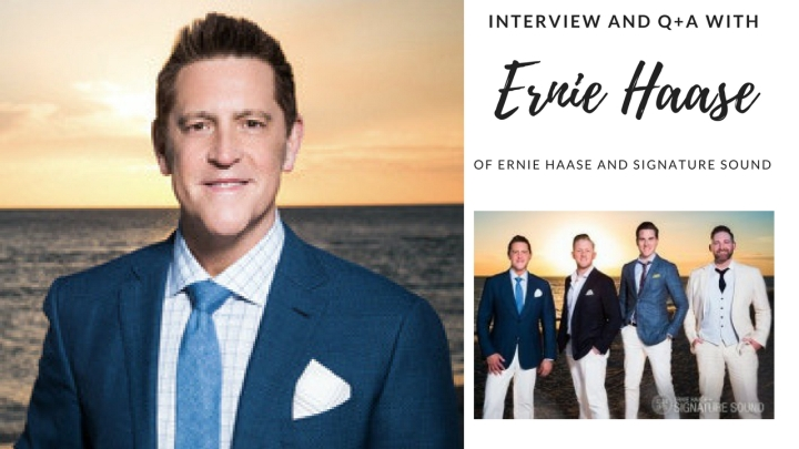 Interview and Q+A with Ernie Haase {Of Ernie Haase and Signature Sound}