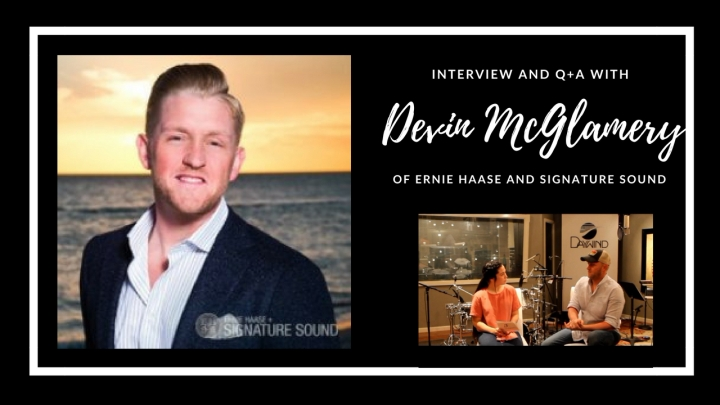 Interview and Q+A with Devin McGlamery {of Ernie Haase and Signature Sound}